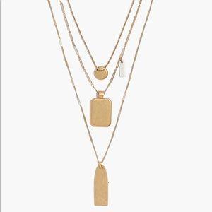 Madewell Treasure Pendant Necklace Set